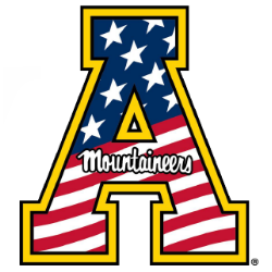 Appalachian State University A Logo