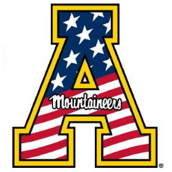 Appalachian State University A Logo