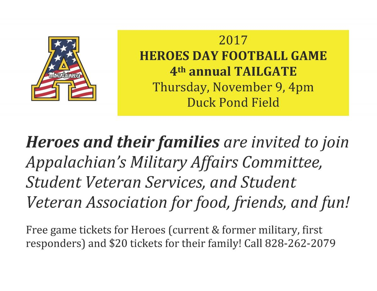 Heroes Day Game Flyer